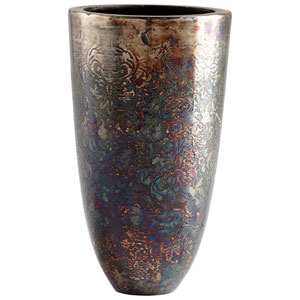 Inscription 10.5 In. Vase
