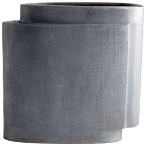 Large A Step Up Zinc Vase