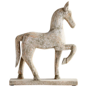 Small Rustic Canter Sculpture