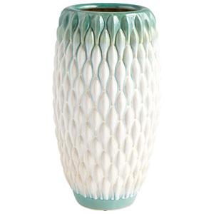 Large Verdant Sea Vase