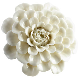Large Flourishing Flowers Wall Decor