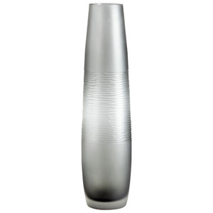 Large Banded Smoke Vase
