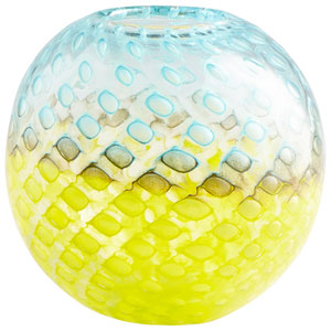 Round Honeycomb Vase