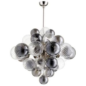 Valence Sixteen-Light Polished Nickel Pendant