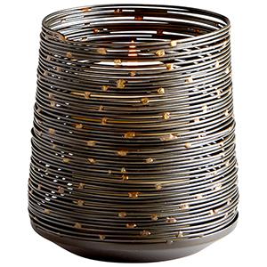 Luniana Medium Bronze Candleholder