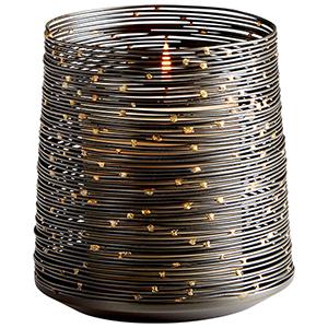 Luniana Large Bronze Candleholder