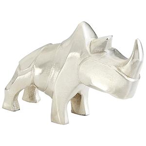 Ricky Rhino Small Sculpture