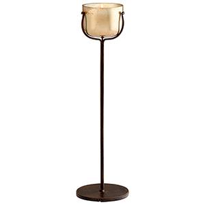 Bardot Bronze Large Candleholder