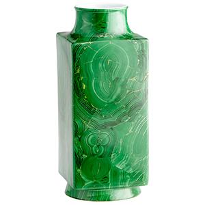 Large Jaded Vase