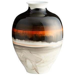 Indian Paint Brush Large Vase