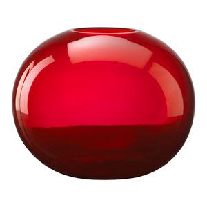 Red Large Pod Vase