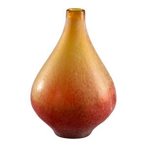 Yellow and Orange Medium Vizio Vase