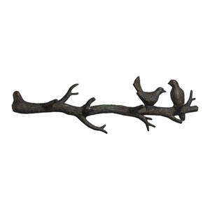 Canyon Bronze Bird Branch Coat Hook