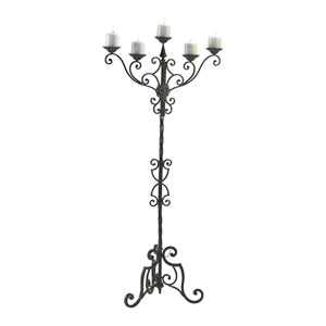 Rialto Antique Patina Floor Candelabra