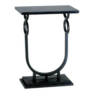 Ebony Rope Side Table
