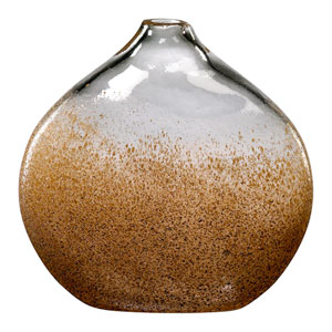 Russet and Gold Dust Small Vase