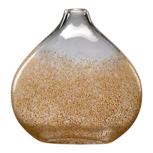 Russet and Gold Dust Large Vase