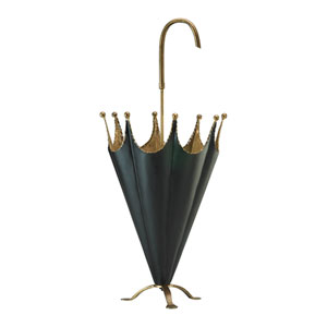 Gold and Black Umbrella Holder
