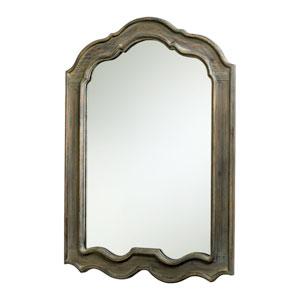 Kathryn Distressed Gray Mirror