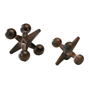 Antiqued Rust Small Jack Only