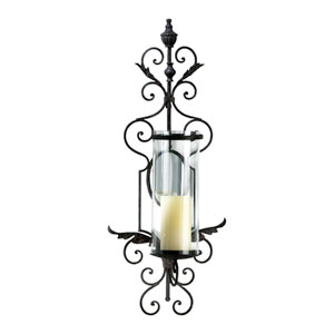 Sonoma Toasted Sienna Wall Candleholder