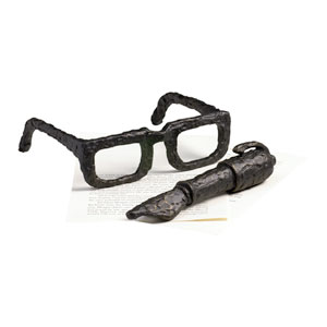 Old World Sculptured Spectacles