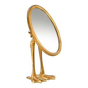 Gold Duck Leg Mirror