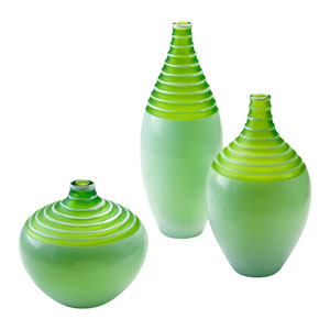 Meadow Green Large Vase Only