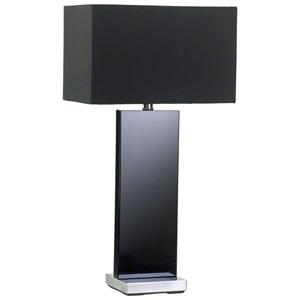 Vista Black One-Light Table Lamp