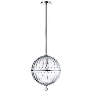 Janus Chrome Large One-Light Globe Pendant