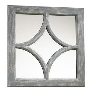 Ashton Distressed Gray Mirror