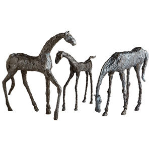 Bronze Filly Sculpture