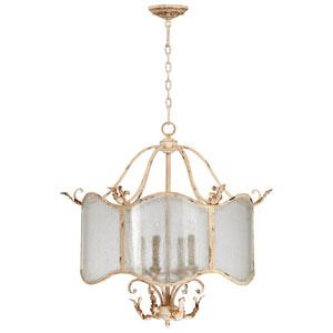 Maison Persian White Four-Light Chandelier