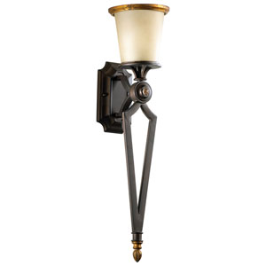 San Giorgo Oiled Bronze One-Light Wall Sconce
