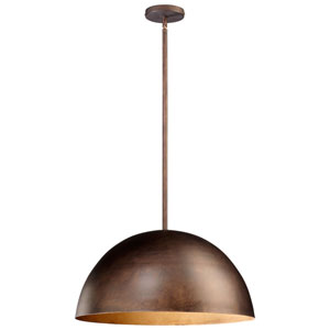Carson Oiled Bronze One-Light Pendant
