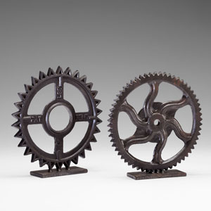 Bronze Gear Sculpture 4