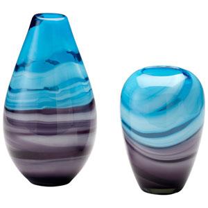 Callie Turquoise and Purple Vase