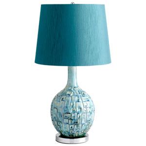 Jordan Teal One-Light Table Lamp
