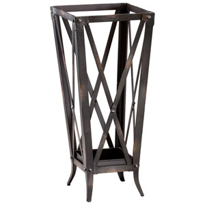 Raw Steel Hacienda Umbrella Stand