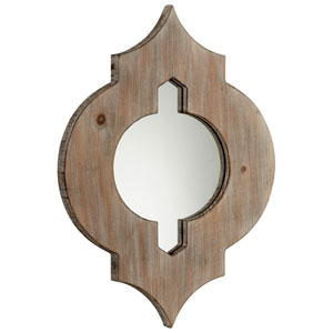 Turk Washed Oak Mirror