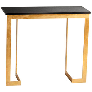 Dante Gold and Black Console Table