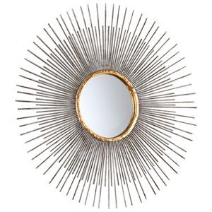 Pixley Antique Silver Small Mirror