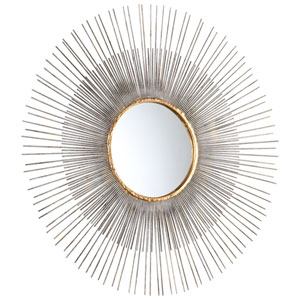 Pixley Antique Silver Medium Mirror