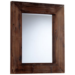 Ralston Walnut Square Mirror
