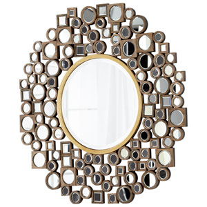 Jorn Clear and Gold Mirror