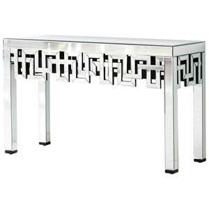 Psara Clear Console Table