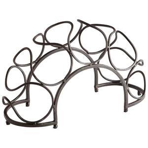 Black Bronze Bridge Wine Rack
