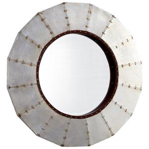 Raw Steel Wheel Mirror