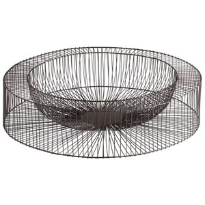 Graphite Large Wire Wheel Tray