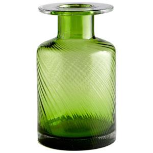 Apothecary Green Medium Vase